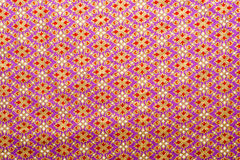 Thai style texture fabric Stock Photography