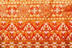 Thai style texture fabric Stock Photos
