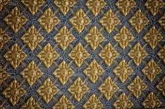 Thai style texture wall Stock Photos