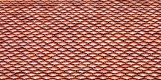 Thai style tile roof Royalty Free Stock Image
