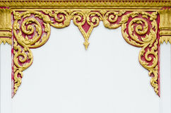 Thai style tracery Stock Photography