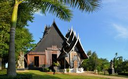 Thai style traditional wooden house Royalty Free Stock Photography