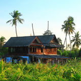 Thai style tropical house Stock Images