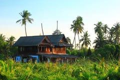 Thai style tropical house Royalty Free Stock Photo