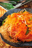 Thai style Vermicelli Royalty Free Stock Photography