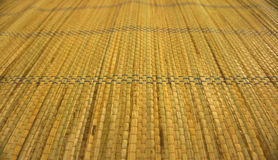 Thai style weave mat background Stock Images