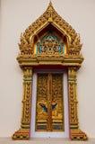 Thai style window Royalty Free Stock Photography