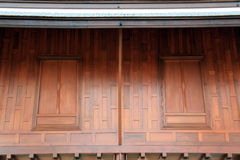 Thai style window Stock Photography