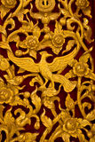 Thai Style Wood carving Royalty Free Stock Photos