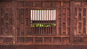 Thai style wooden Royalty Free Stock Photography
