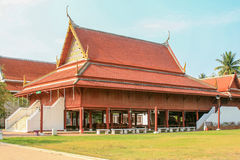 Thai style wooden house Royalty Free Stock Photos