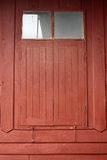 Thai style wooden windows Royalty Free Stock Photography