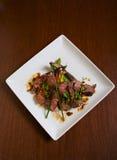 Thai Styled Steak Royalty Free Stock Image