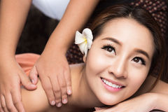 thai sund massage Arkivbilder
