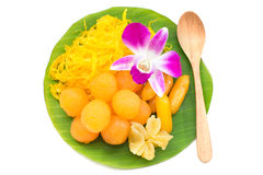Thai sweet dessert Stock Images