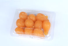 Thai sweet golden ball Stock Images