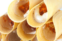 Thai sweet snack Stock Photos