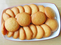 Thai sweet snacks with crispy egg Royalty Free Stock Image