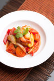 Thai Sweet and Sour Shrimp Stock Image