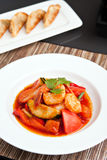 Thai Sweet and Sour Shrimp Stock Images