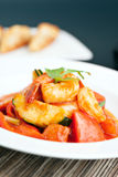 Thai Sweet and Sour Shrimp Dish Stock Photography