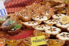 thai sweetmeat Arkivbild