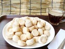 Thai sweetmeat made of flour Royalty Free Stock Photos