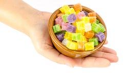 Thai sweetmeat, Thai dessert Royalty Free Stock Photography