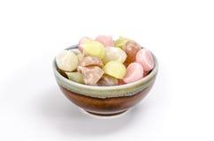 Thai sweetmeat, Thai dessert Royalty Free Stock Images