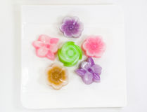 Thai sweetmeat Stock Photos
