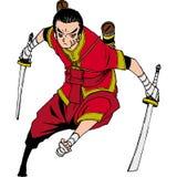 Thai sword Royalty Free Stock Image