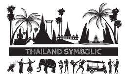 Thai symbolic icon. Stock Images