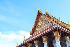 thai taktempel Royaltyfri Bild
