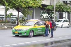 Thai taxi Stock Image