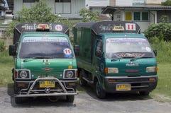 Thai taxi Royalty Free Stock Photo