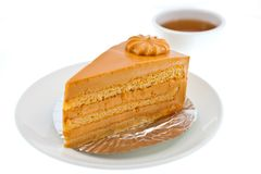 Thai Tea Cake Stock Images