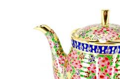 Thai tea jar Royalty Free Stock Images