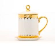 Thai tea mug Royalty Free Stock Images