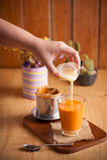 Thai Tea Wih Vietnamese Style Stock Photography