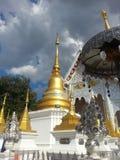 thai tempel Royaltyfri Fotografi
