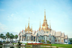 thai tempel Royaltyfri Bild