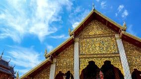 thai tempel Fotografering för Bildbyråer