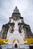 Thai tempel för relik Arkivbilder