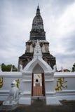 Thai tempel för relik Arkivbild