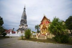 Thai tempel för relik Arkivfoton