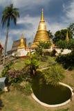 thai tempel för stupa 2 Royaltyfri Bild