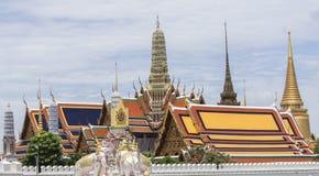thai tempel för watprakeaw Arkivfoto