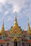 Thai temple. Royalty Free Stock Image