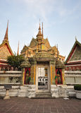 Thai temple. Royalty Free Stock Photo