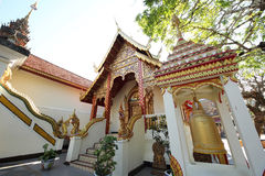 Thai temple. Doi Suthep temple on north of thailand Royalty Free Stock Photo